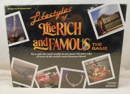 Lifestyles of the Rich and Famous Board Game (New Factory Sealed)  - $24.99