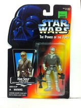Star Wars Power Of The FORCE- Han Solo In Hoth GEAR- #69587 Figure H10 - $4.73