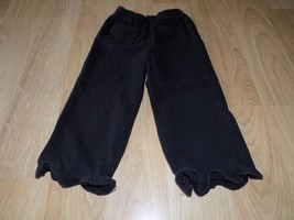 Baby Girls Size 24 Months Faded Glory Solid Black Comfy Casual Lounge Pa... - $8.00