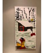 SIGNED ORIGINAL PAINTING Oil on Canvas Fargo Snow Cabin Landscape Hockne... - $56,000.00