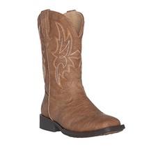 Children Western Kids Cowboy Boot,Distressed Brown,2 M US Little Kid - $113.19