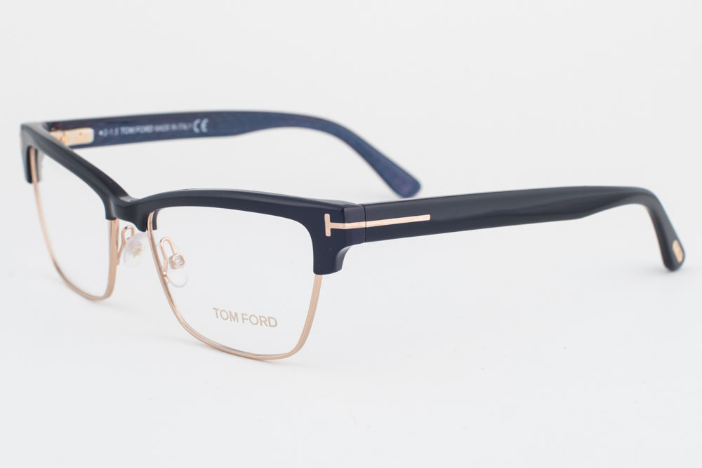 92b2eb44bc Tom Ford 5364 005 Black Gold Eyeglasses and 50 similar items. S l1600