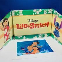 Walt Disney Store lithograph poster print litho 14X11 Lilo & stitch surf... - $19.16