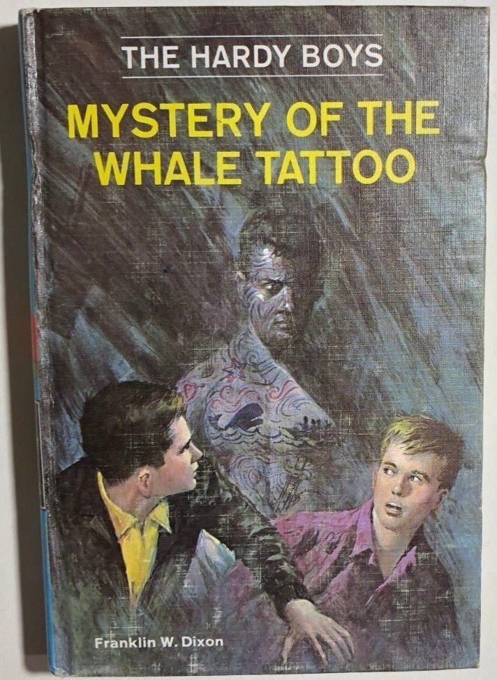 Primary image for HARDY BOYS Mystery of the Whale Tattoo by Franklin W Dixon (c) 1968 G&D HC