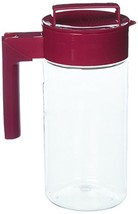 Takeya Patented and Airtight Pitcher Made in the USA, 1 Quart, Raspberry - $24.82