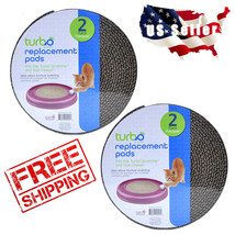 Bergan Turbo Scratcher Replacement Pads for Cat Toys Kitten 2 pack - $12.99