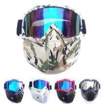 Tactical Goggle Glasses Rival Face Mask for Nerf-N Strike Elite Dart Bla... - $21.95+