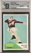 1960 Fleer #2 Corky Tharp GAI 8 - $85.77