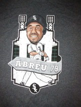 Chicago White Sox Jose Abreu #79 Cartoon T Shirt Sz M MLB Baseball Illinois - $16.99