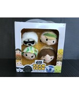 Star Wars Tsum Tsum Collector Set Luke, Han Solo, Leia, & Scout Trooper ... - $7.99