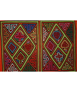 Old Kuna Traditional Mola Applique Deck of Cards Folk Art Sewn Blouse Pa... - $56.99