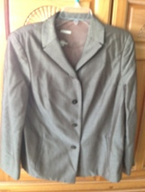 women's 4 button blazer with pockets size 8 no label beautiful condition - $44.99