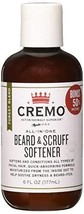 Cremo Beard and Scruff Softener, Forest Blend, 6 Ounce - Conditions Coarse Facia