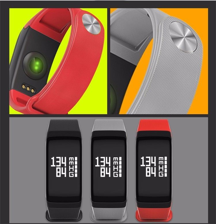 FitR™ Fitness Bluetooth Tracker Heart Rate Blood Pressure Monitor Bracelet Watch