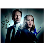 X-FILES - DAVID DUCHOVNY & GILLIAN ANDERSON  Signed Autographed Cast Pho... - $85.00