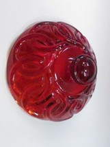 Replacement Glass Lid Depression red, Made in USA , - $11.30