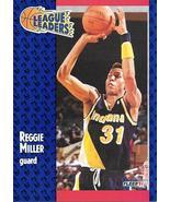 Reggie Miller ~ 1991-92 Fleer #226 ~ Pacers - $0.05