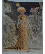 "Paradise Crochet 11 1/2""  Doll Costume Pattern P-110 1908 Zhivago Winter... - $9.41"