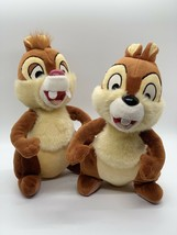 "Disney Parks Chip And Dale Chipmunk Plush 8"" Stuffed Animals - $14.96"