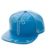 The Legend Of Zelda Breath Of The Wind Snapback Hat Blue - $29.98