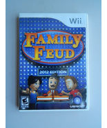Family Feud-2012 Edition (Nintendo Wii, 2011)complete with manual& free ... - $8.99