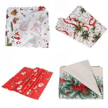 Home Kitchen Dining Table Decorations Christmas Tablecloth Rectangular C... - $17.99