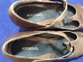 Aeropostale Women's Brown Dressy Summer Pumps Sz 9M image 5