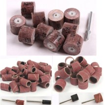 70pcs Sandpaper Grinding Dremel Rotary Tool Accessories Abrasive Sanding... - $12.11