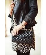 Rebecca Minkoff Quilted Affair Shoulder Bag in Black (H330I001) - $255.42