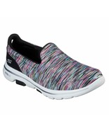 Skechers Shoes Black Multi Go Walk 5 Women's Casual Slip On Comfort Spor... - $49.99