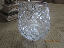 LENOX CRYSTAL1ST ANNUAL CHRISTMAS CANDLE HOLDER NOEL 1984 SALE image 3