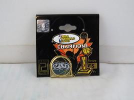 San Antonio Spurs Pin (Retro) - 2003 NBA Champions - Peter David - $25.00