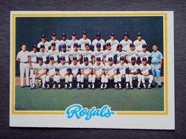 1978 Topps #724 Royals Team Baseball Card (Kansas City Royals) G - $2.39