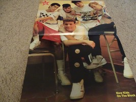 New Kids on the Block Ricky Schroder teen magazine poster clipping World... - $4.00