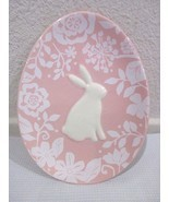 Magenta Easter Bunny Rabbit Pink Appetizer Plate - £8.53 GBP
