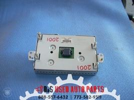 2014 FORD FIESTA RADIO INFO LCD DISPLAY PANEL C1BT-18B955-GB OEM