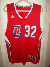 NWT L A Clippers Blake Griffin XLarge Adidas Red 2014-15 Swingman Road Jersey - $24.95