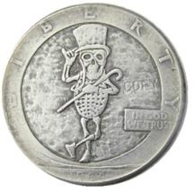 New Hobo Nickel 1944 Half Dollar Mr Peanut Character US Art Casted Coin - $9.49