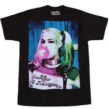 DC Comics Suicide Squad Tee Harley Quinn Bubble Gum T-Shirt New SSQ - $12.99