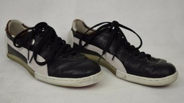 Puma Mihara Yasuhiro MY-18 Leather Suede Black Shoes Sneakers 11 Mens 34... - $74.19