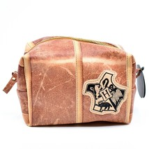 Harry Potter Hogwarts Theme Zippered Toiletry Makeup Accessory Bag image 1