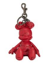 NWT COACH Disney x Coach Minnie Mouse Doll Bag Charm red - $145.00