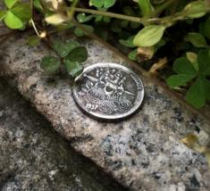 New Hobo Nickel 1937 Skull Skeleton King Crown Art Design Casted Coin - $11.39