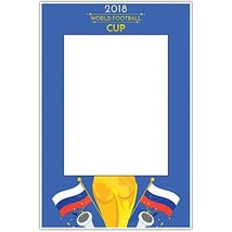 Russia 2018 World Cup Football Selfie Frame Poster - £12.38 GBP