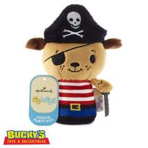 Pirate Party Pup Hallmark itty bitty bittys Dog Stuffed Animal  Skull Cr... - $14.84