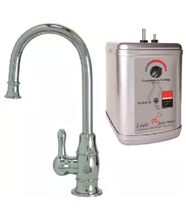 Mountain Plumbing MT1850DIY-NL/PVDPN Hot Water Faucet with Tank Polished Nickel - $445.45