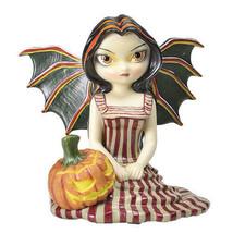 PTC 4.75 Inch Halloween Twilight Fairy with Jack-O-Lantern Statue Figurine - $20.78