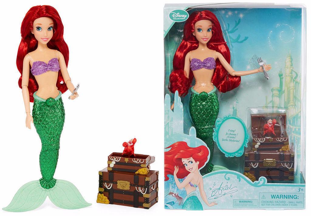 "Disney Deluxe  FROZEN Queen Elsa Princess Classic Doll Poseable  12/"" NIB  Gift"