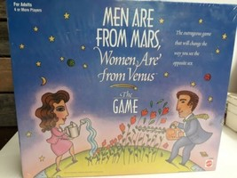 Men Are From Mars, Women Are From Venus-The Game (Mattel 1998) New in Bo... - $30.68