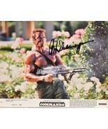 ARNOLD SCHWARZENEGGER SIGNED PHOTO - Terminator - Commando - Predator w/COA - $269.00